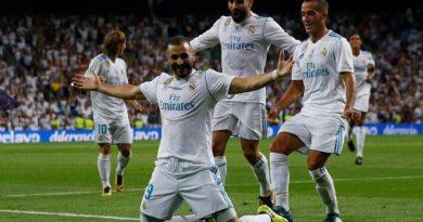 Premier but de la saison pour Karim Benzema