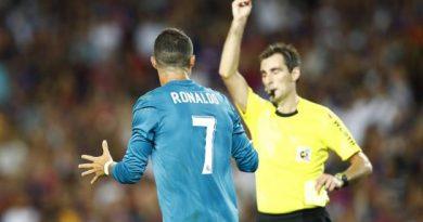 Sanction confirmée pour Cristiano Ronaldo