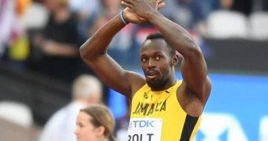 Usain Bolt a reçu un bel hommage de Gianluigi Buffon
