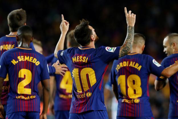 Lionel Messi a été éblouissant face à l'Espanyol Barcelone