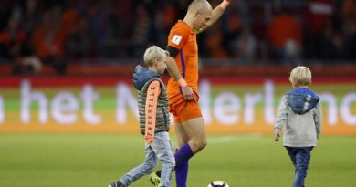 Arjen Robben met un terme à sa carrière internationale