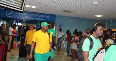 Arrivée des lions du Sénégal au Cap-Vert