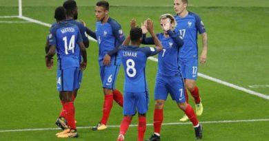La France qualifiée pour la Coupe du monde 2018