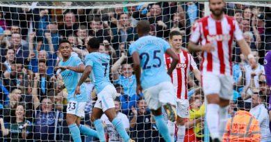 Les Citizens ont réalisé une performance incroyable contre Stoke City