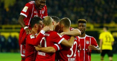 Le Bayern a surclassé Dortmund