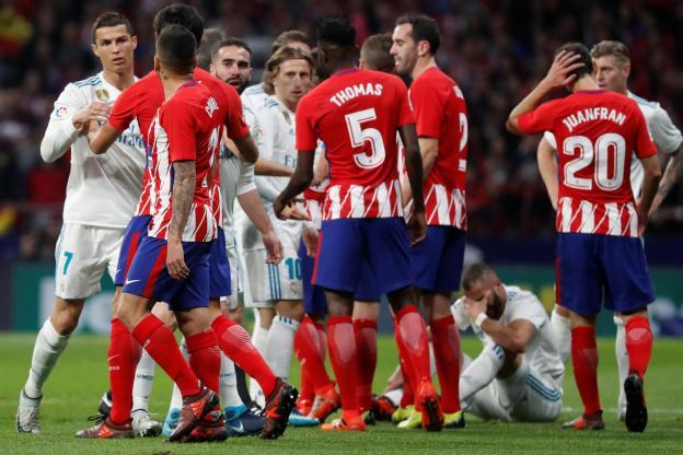Le derby madrilène a été très tendu