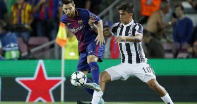 Lionel Messi et Paulo Dybala lors du match aller
