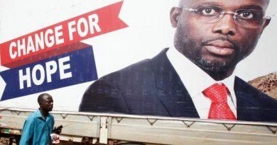 George Weah nouveau président du Liberia