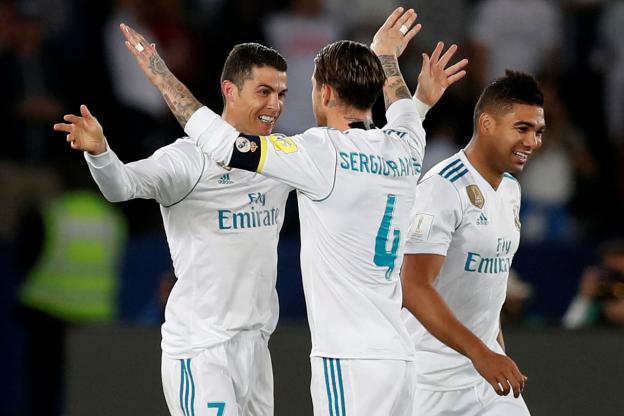 Ronaldo a débloqué la situation sur coup franc au retour des vestiaires