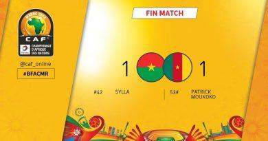 Burkina Faso - Cameroun 1-1