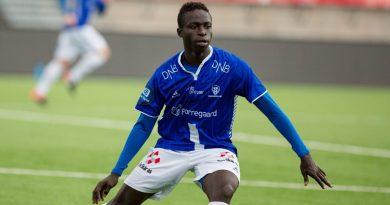 Krepin Diatta sous les couleurs de son club en Norvège