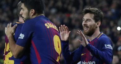 Luis Suarez et Lionel Messi, les deux buteurs