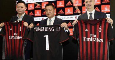 Yonghong Li, propriétaire de l'AC Milan