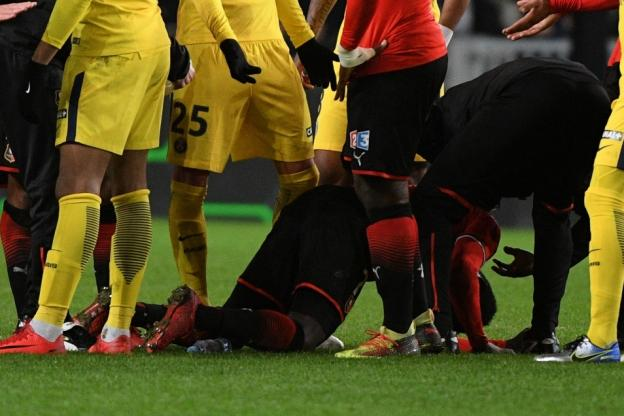 Ismaïla Sarr a été blessé par Mbappé face au PSG