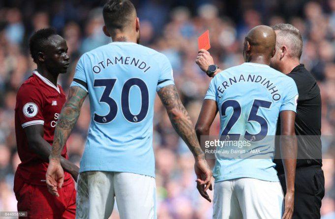 Le carton rouge à Manchester City m'a perturbé
