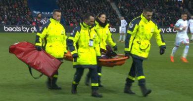 Neymar est sorti sur civière
