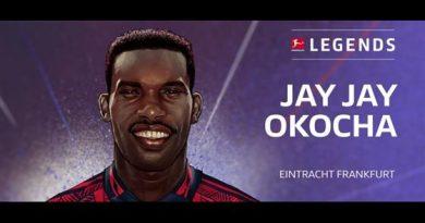 Jay-Jay Okocha distingué Légende de la Bundesliga