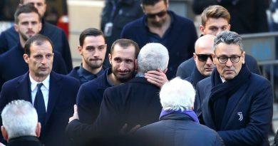 Le football italien a rendu un bel hommage à Astori