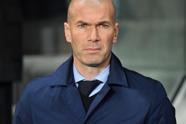 Zinédine Zidane est satisfait de la prestation de son équipe face au PSG