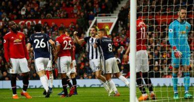 Manchester United a été surpris à domicile par WBA