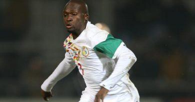 Moussa Sow en action avec le Sénégal