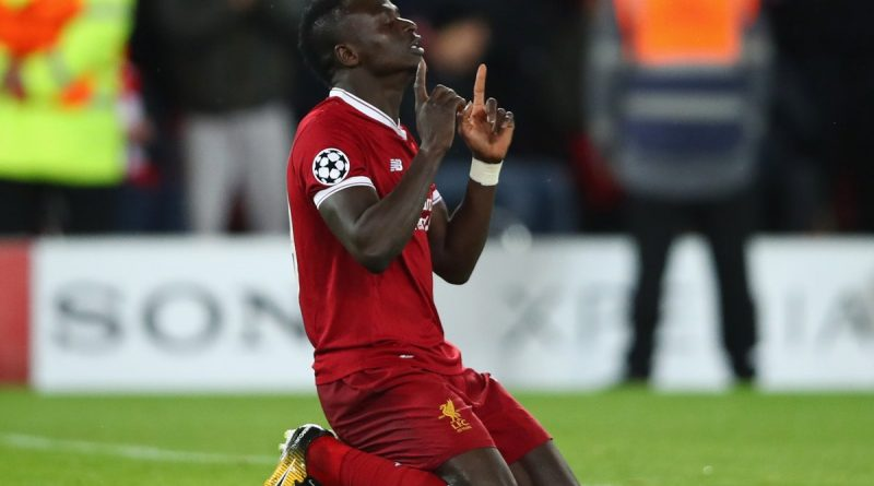 sadio but face à la roma