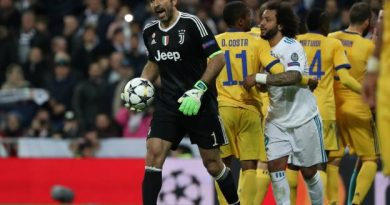 Buffon a été exclu dans le temps additionnel de la demi-finale retour contre le Real