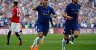 Chelsea remporte la Cup face à Manchester United grâce à Eden Hazard