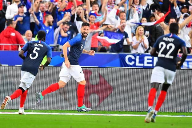 Olivier Giroud marque son 31e but en équipe de France