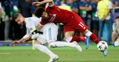 Sergio Ramos a blessé Salah