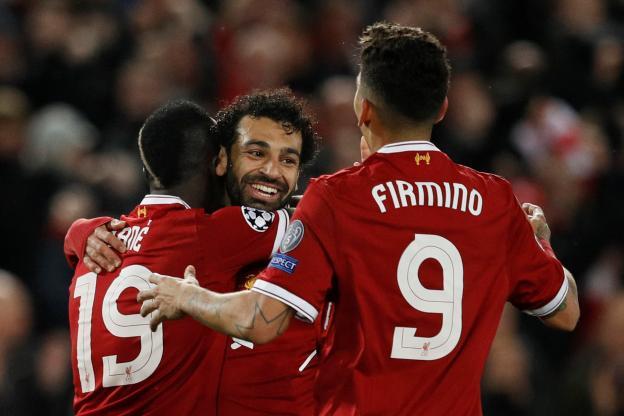 Un record pour le trio Salah-Firmino-Mané