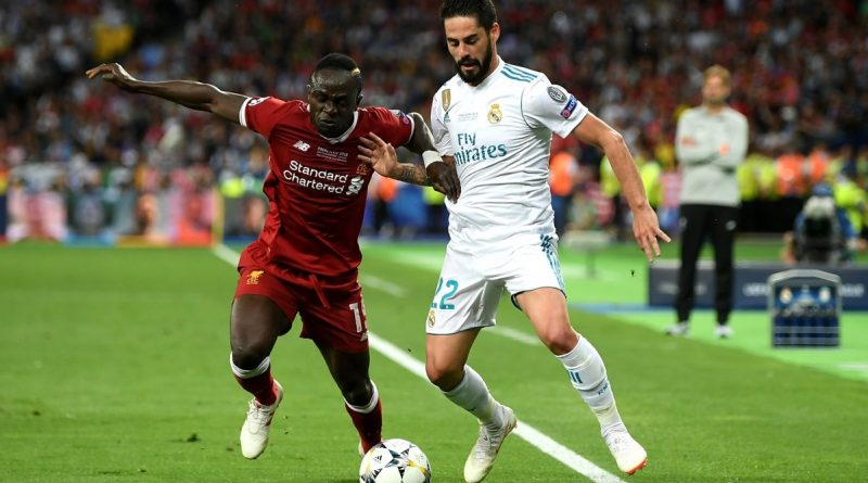 sadio mané finale contre real