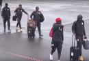 Mondial 2018 – Vidéo de l'arrivée des Lions à Osijek, en Croatie !