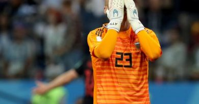Caballero a raté son match contre la Croatie