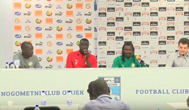 Conférence de presse du coach Aliou Cissé -