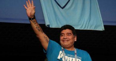 Diego Maradona à Saint-Pétersbourg