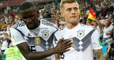 Kroos a marqué le but de la victoire au bout du temps additionnel