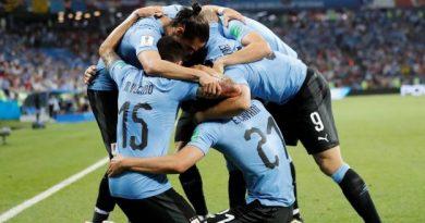 L'Uruguay va affronter la France en quarts de finale