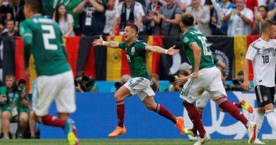 Le Mexique a gagné contre l'Allemagne