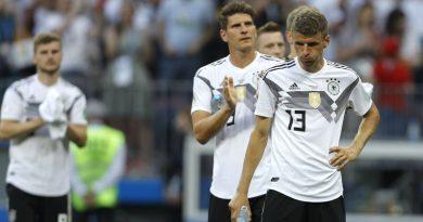 Les allemands, champions du Monde en titre sont éliminés