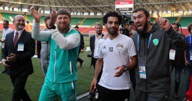 MoSalah n'a pas participé au premier entraînement de l'Egypte à Grozny