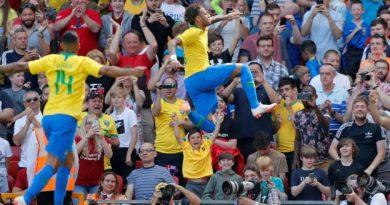 Neymar a marqué contre la Croatie