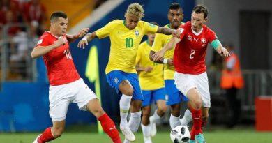 Neymar et le Brésil ont peiné contre la Suisse