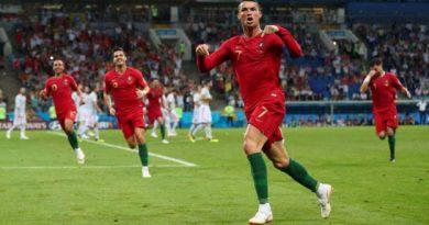 Ronaldo a signé un triplé face à l'Espagne