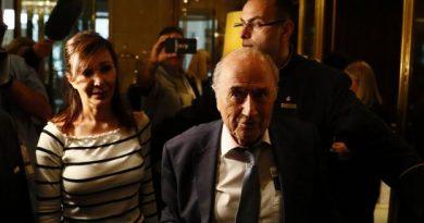 Sepp Blatter photographié dans un hôtel moscovite