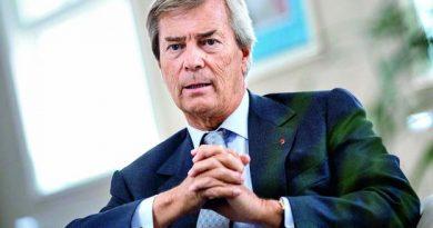 Vincent Bolloré, propriétaire de Canal+