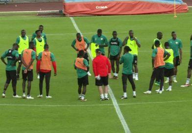 Vidéo : Première séance d'entraînement des Lions du Sénégal à Kaluga