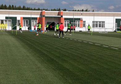 Vidéo : Deuxième séance d'entraînement des Lions à Kaluga devant un nombreux public