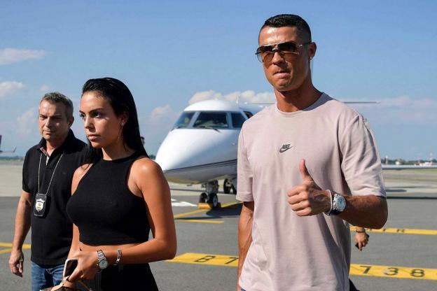 Cristiano Ronaldo et sa compagne Georgina Rodriguez sont arrivés ce dimanche 15 juillet à Turin