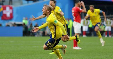 Emil Forsberg a inscrit son 1er but pour la Suède en Coupe du Monde
